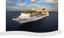 illustrazione nave Carnival Cruise Lines miracle