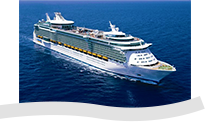 illustrazione nave royal caribbean independence of the seas